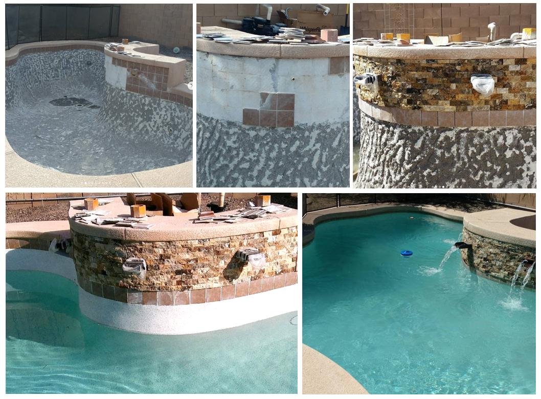 Pool remodels in Gilbert AZ